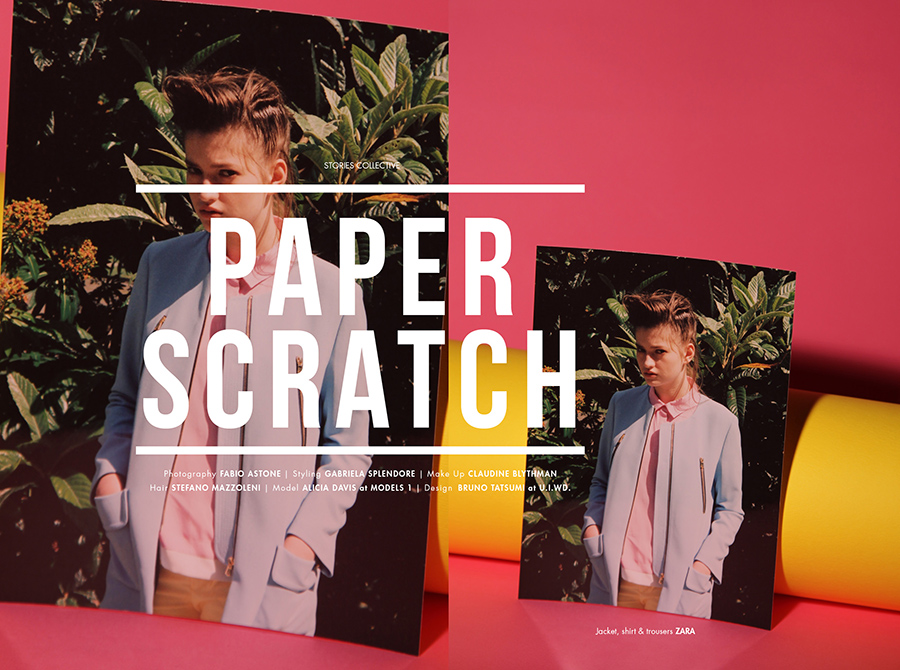 The Fun & Colours Issue / Paper Scratch